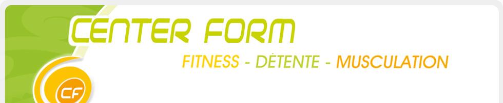 Plan du site de Center Form : Le plaisir de la forme avec son club ...